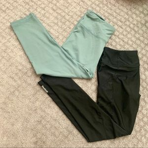 Excellent: 90 degree/Reebok leggings bundle